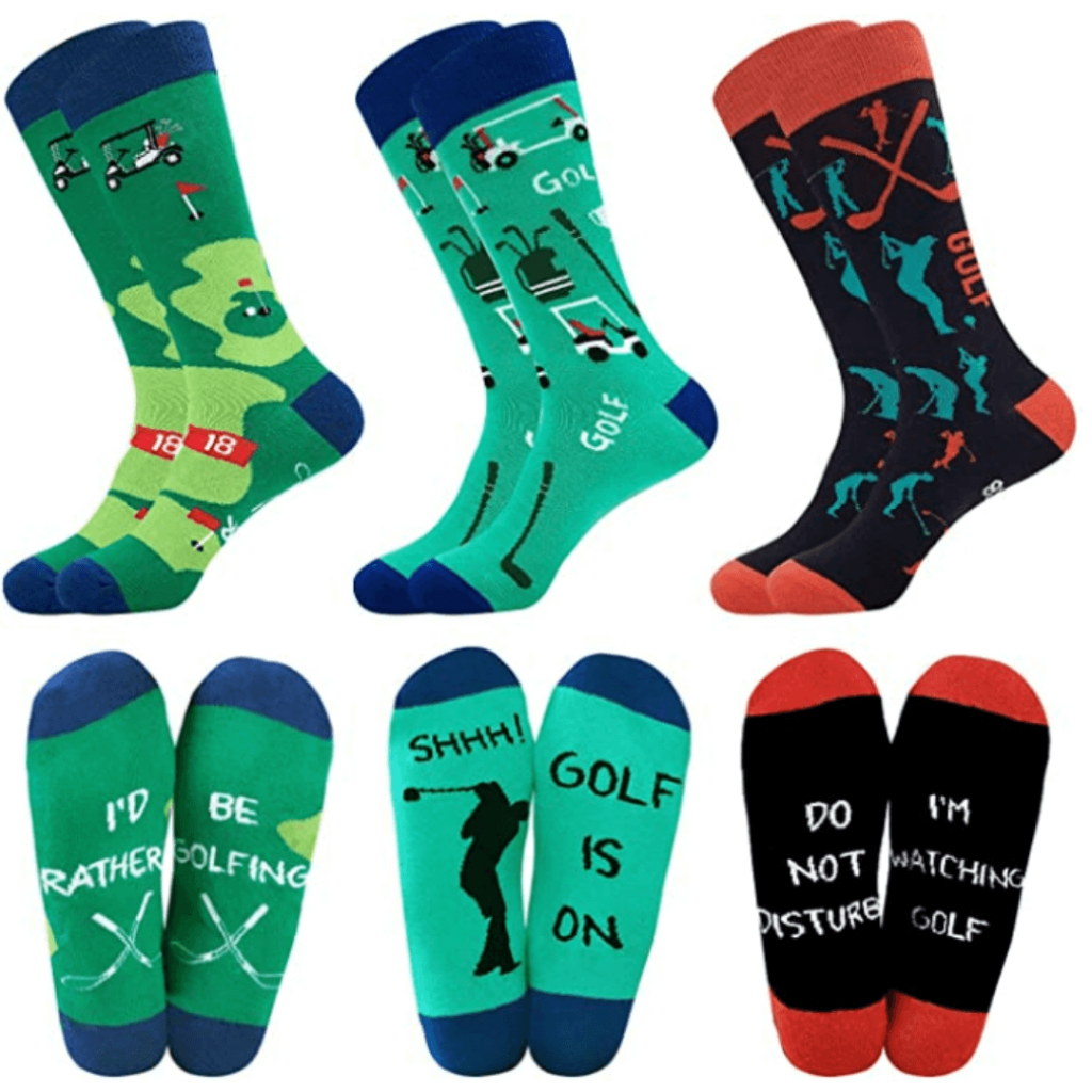 Xmas Golf Socks